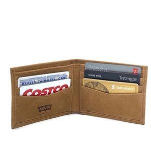Levi's Genuine Full Grain Bovine Leather Wallet